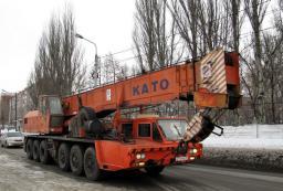 Аренда кран 40 тонн Като