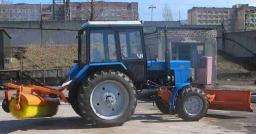 Аренда коммунальной машины МТЗ-82
