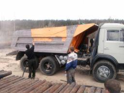 Прокат самосвала Камаз 10 тонн