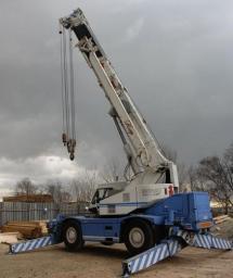 Аренда автокрана Каматсу 30 тонн