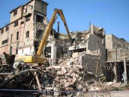 Услуги по демонтажу зданий