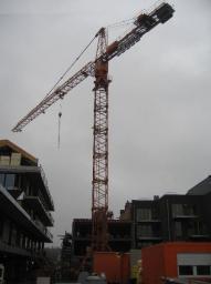 Аренда башенного крана высота 46 м