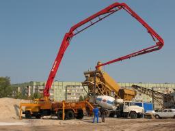 Прокат бетононасоса 15 метров