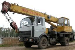 Аренда автокрана Ивановец 14 тонн