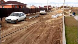 Отсыпка и планировка дорог