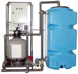 Установка очистки и рециркуляции воды СОРВ-2/800-Р