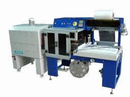 Автоматическая термоусадочная машина для упаковки продукции в пленку