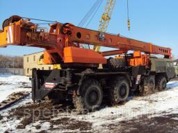 Прокат крана Краян 75 тонн