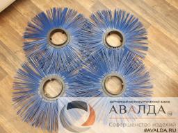 Диск щеточный 120х550, диски беспроставочный полипропиленовый