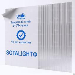 Сотовый поликарбонат 8 мм SOTALIGHT