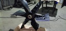 Ротор с лопастями ДЭ-210
