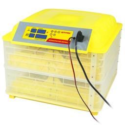 Инкубатор автоматический SITITEK 96 на 96 яиц 220В, 12В (термостат, влагомер, автопереворот)