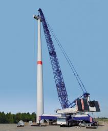 Аренда гусеничного крана LIEBHERR LG 1750 г/п 750 тонн
