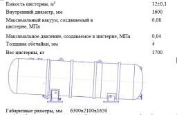 Цистерна КО-505Б.01.01.000