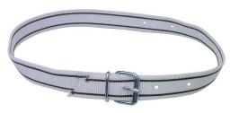 Маркировочный ошейник с ременной застежкой, 40 мм, 135см, бело-черный
