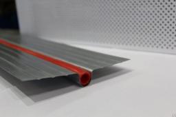 Теплораспределительная пластина 1000*165*0,5 (шаг 175мм) теплого пола
