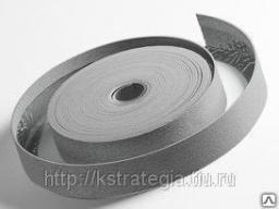 Демпферная лента 10*100 мм длина 15 метров с юбкой на самоклейке