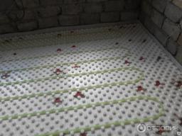 Электро-водяной теплый пол ЭСО-5 42 метров