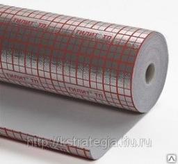 Рулон теплоизоляционный подложка для Теплого пола толщина 3мм, ширина 1,2м