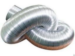 Воздуховод гофра нержавейка диаметр 120 мм длина 3 метра