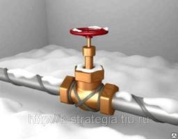 Кабель нагревательный для обогрева труб канализацию резервуары