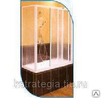 Шторка на ванну размеры 1495*1400 мм материал пластик