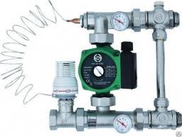 Насосно-смесительный узел XF15189 для водяного теплого пола