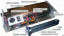 Электрический котел ЭВПМ 6 кВт тэновый моноблок отопления дома