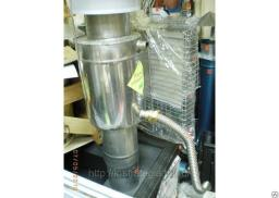 Гофрированная нержавеющая водяная труба 20 мм для банной печки и бака