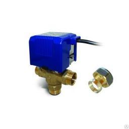 SBMV-38 клапан с моторным приводом 3-ходовой 1