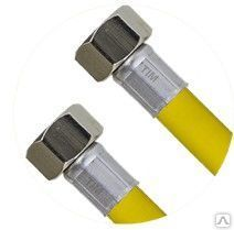 Шланг для газа с PVC покрытием, гайка-гайка C-GP26-40