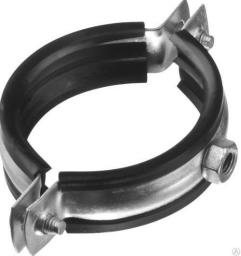 Металлические хомуты с резинкой TIM009