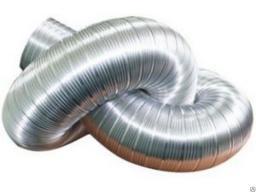 Воздуховод гофра 110 мм нержавейка длина 3 метра