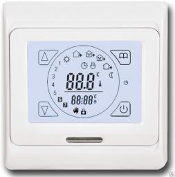 Терморегулятор для теплого пола E 91.716 программируемый сенсорный