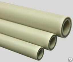 Труба полипропиленовая 25 мм стекловолокно KrafPipe полипропиленовые трубы