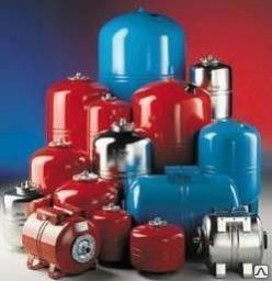 Гидроаккумулятор синий Н-50, баки, гидроаккумуляторы