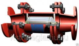 Промышленный магнитный преобразователь воды фланцевыми МПВ MWS Dy 100