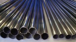 Нержавеющая труба тонкостенная 19*0,3 мм длина 110 см для швабр