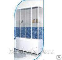 Шторка на ванну размеры 1495*1400 мм материал стекло закаленное