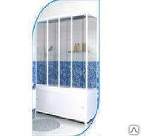 Шторка на ванну размеры 1695*1400мм материал стекло закаленное
