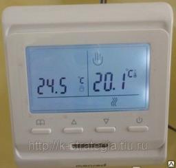 Терморегулятор Е 51.716 программный для отопления помещений теплый пол