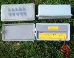 Блок генератора электроизгороди ИЭ-1-2 (до 1 км, 4,5В)