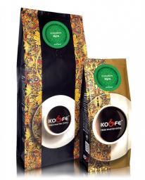 Ароматизированный кофе Нуга (1 кг, Марагоджип, в зернах)