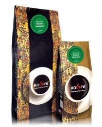 Ароматизированный кофе Ваниль ореховая (1 кг, Бразилия, в зернах)