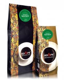 Ароматизированный кофе Крем-брюле (1 кг, Марагоджип, в зернах)