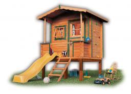 Строительство детских домиков и сооружений из дерева