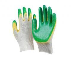 Перчатки одинарный и двойной облив