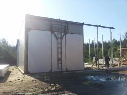 Сушильный комплекс СКД-50 на древесных отходах с теплогенератором УВН-250