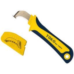 Нож для снятия изоляции с пяткой 1000 В Yoko