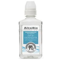 AltaiBio Ополаскиватель для полости рта для чувствительных зубов Липа-Календула, 200 мл